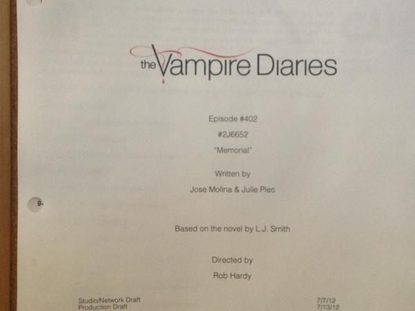 Название 2 серии 4 сезона сериала дневники вампира